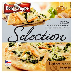 don-peppe-selection-pizza-kureci-maso-spenat-pecena-na-kameni-435g