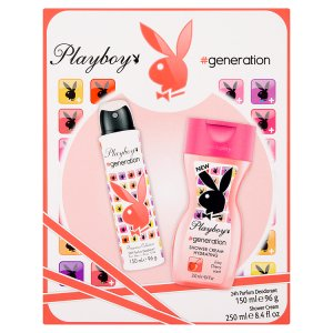 playboy-generation-damsky-telovy-deodorant-24h-150ml-sprchovy-gel-250ml